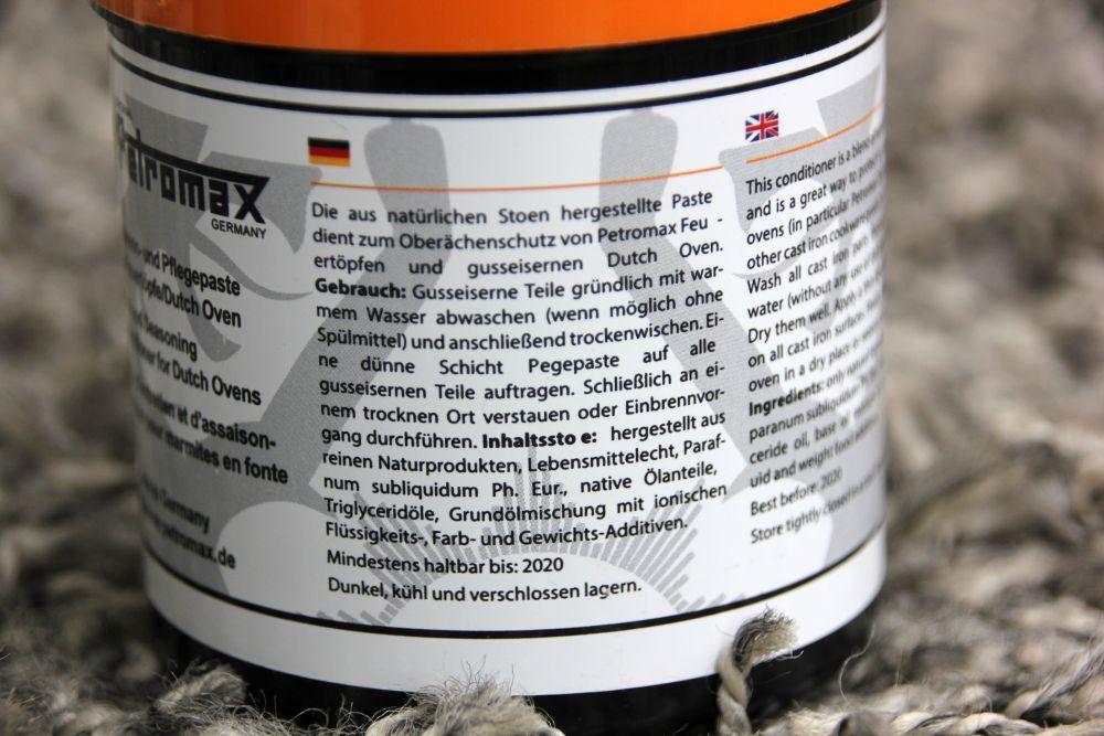 Petromax Pflegepaste Anleitung